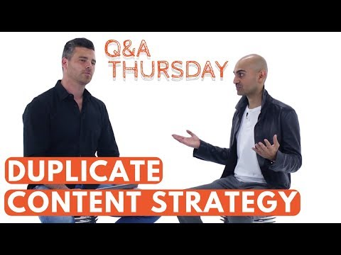 SEO Hack: Duplicate Content Strategy