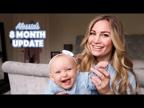 8 Month Baby Postpartum Update | Alessia