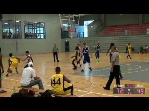 Yves Jonathan Slammers Basketball Pro Exposure Highlights 2015