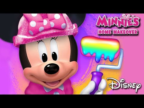 Minnie Mouse - Minnie's Home Makeover Decorating App For Kids