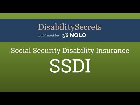 Social Security Disability Insurance (SSDI)
