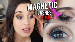Magnetic Eyelashes Review!
