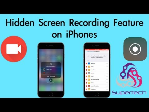 Hidden Screen Recording feature on iPhone and iOS 11!