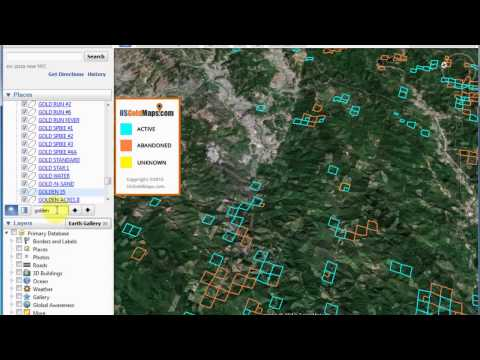 How To Find & Search for a Gold Claim with US Gold Maps™ & Google Earth™