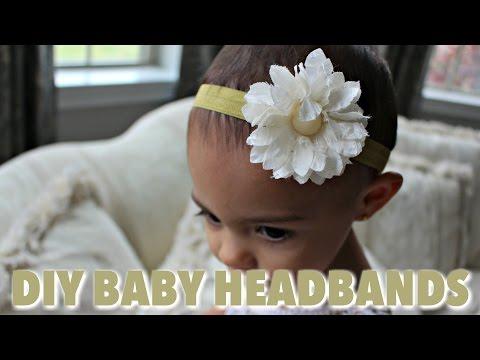 DIY Baby Headbands | Rachel Weiland