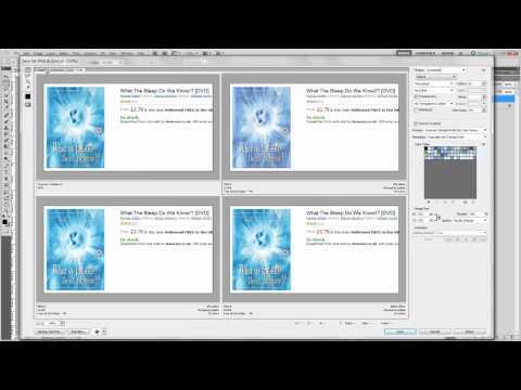 Create and Edit screenshots with Photoshop CS5