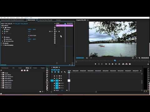 How To Zoom into Images/Video in Adobe Premiere Pro CS6 / CC