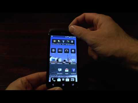 How to edit the shortcuts on the lock screen of a HTC one (S)