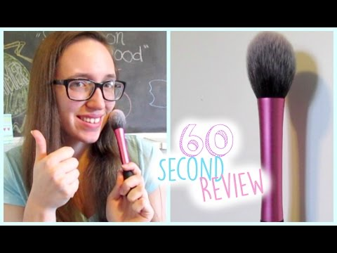 60 Second Review: Real Techniques Blush Brush