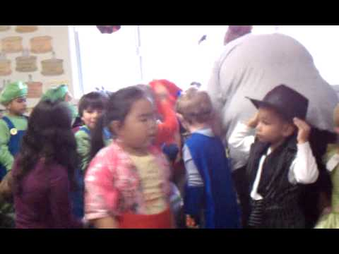 HHH October 31 2012, preschool chaos and class pic