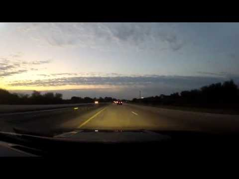 Driving Time Lapse 3 Orlando to Miami in a Nissan 350Z Busy Child