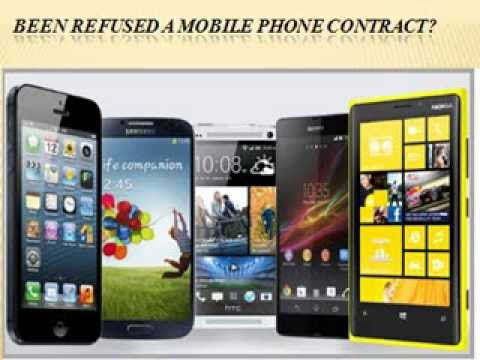 Get Mobile Phone Contract with Any Credit Phones