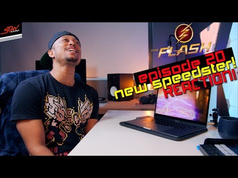 The New Speedster REACTION! The Flash Season 4X20 Reaction! Dawn Allen