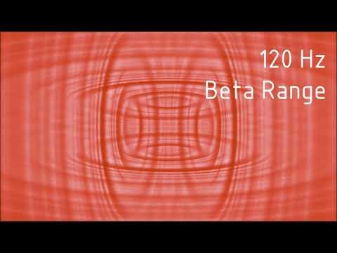 Pure 120 Hz Beta Range Binaural Beats [30 min]