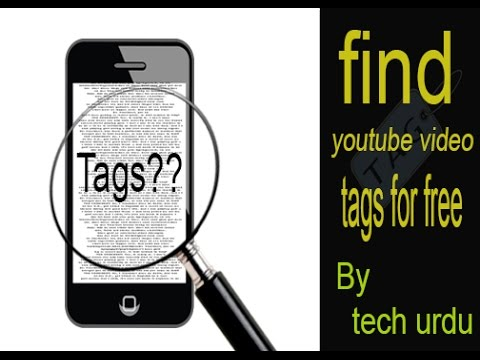 how to find tags for youtube videos  for free
