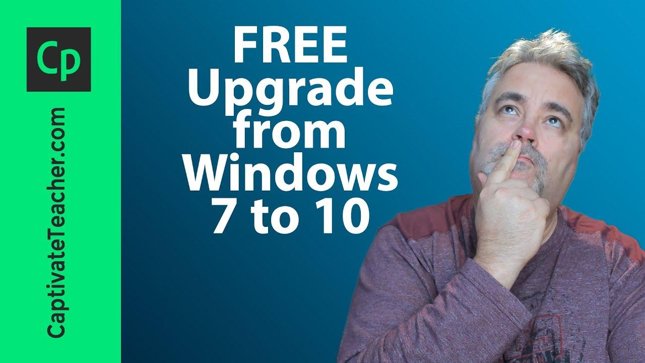 FREE Upgrade from Windows 7 to Windows 10