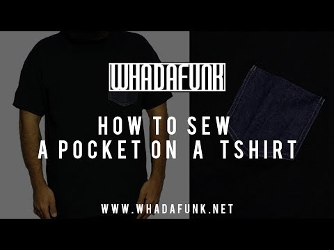 DIY: How To Sew A Pocket T-Shirt