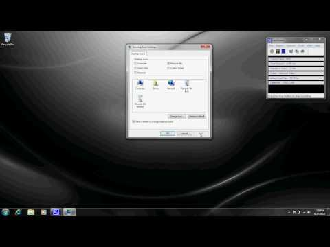 How to Add The Recycle Bin to the Desktop Windows 7