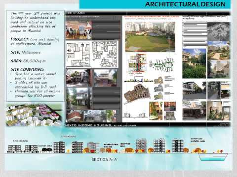 my architecture Portfolio