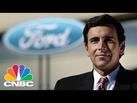 Ford CEO Mark Fields Outsed, To Be Replaced By Jim Hackett | Squawk Box | CNBC