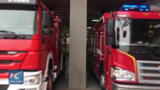 How fast can Chinese firemen  get ready for mission