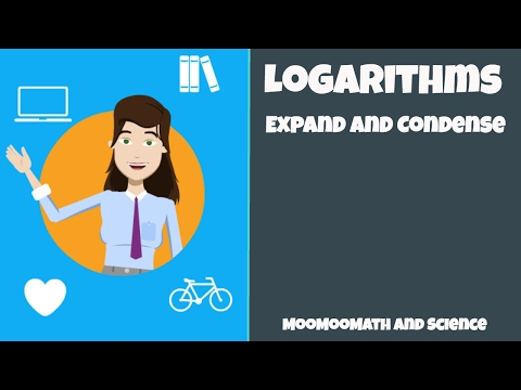 How to Expand and Condense Logarithms ( Basic Log Rules )