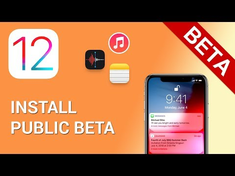 How to install iOS 12 public beta