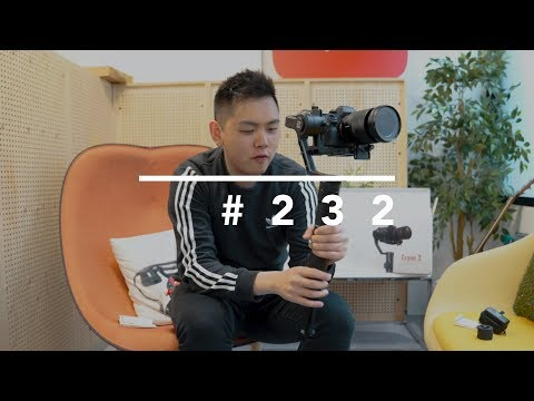 ZHIYUN CRANE 2 UNBOXING AND FIRST IMPRESSION
