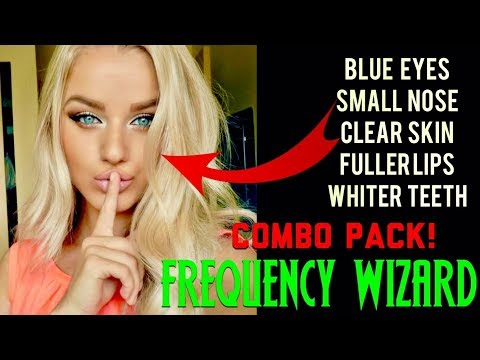 ⚡️GET BLUE EYES, SMALL NOSE, CLEAR SKIN, FULLER LIPS, WHITE TEETH - COMBO PACK! SUBLIMINAL FORMULA