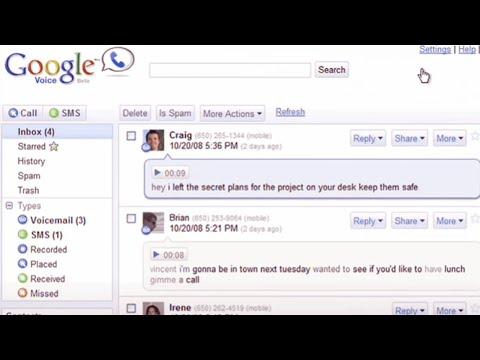 Google Voice - Voicemail transcripts