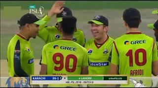 Mustafizur Rahman best balling in PSL 2018 | The Fizz cutter vs Karachi Batsman in PSL |