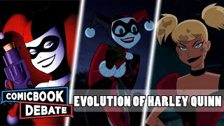 Evolution of Harley Quinn in Cartoons in 7 Minutes (2017)