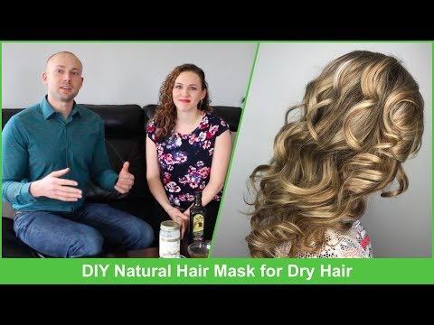 DIY Natural Hair Mask for Dry Hair | Fix Damaged Hair