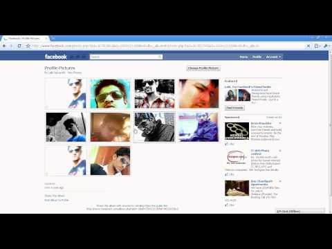 Facebook tricks - Make Facebook profile picture bigger