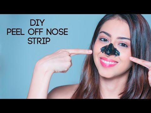 How To Get Rid Of Blackheads | DIY Peel Off Nose Strip
