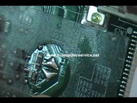Toshiba Satellite M305D Bios Password Removal