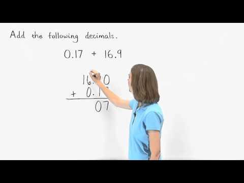 Adding Decimals | MathHelp.com