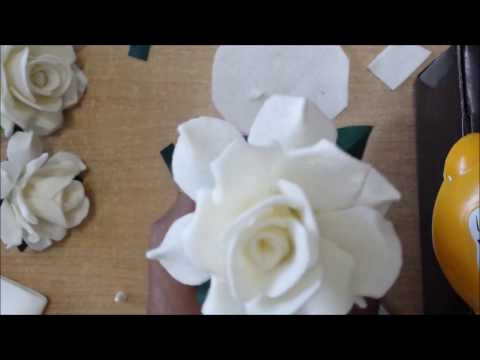 How to Make Roses out of Felt Cloth
