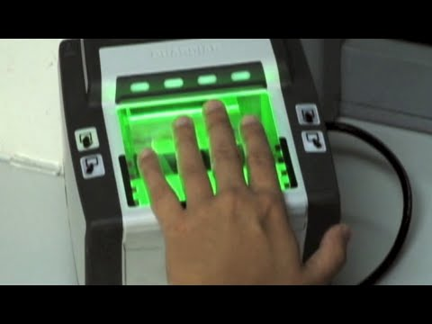 Fingerprinting during your U.S. Visa Interview