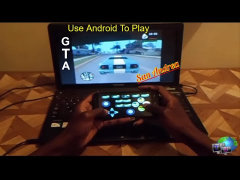 Use Android Phone as a GamePad to play GTA San Andrea on computer or Laptop