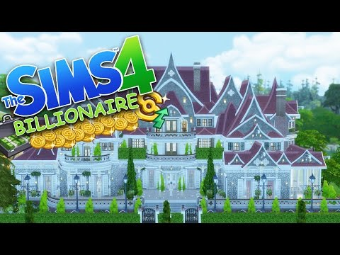 MOST EXPENSIVE HOUSE EVER! | The Sims 4 BILLIONAIRE Ep.2