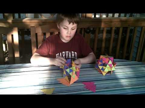 Geometric Paper Orb #1