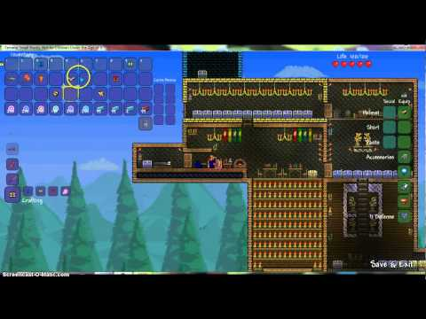 Terraria: How to craft hallowed armor