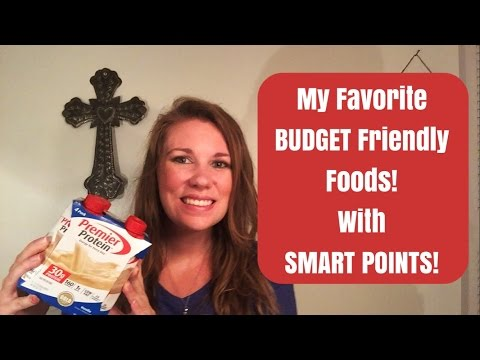 My Favorite Weight Watcher Foods on a Budget with Smart Points! {Vlogidays Day 17}