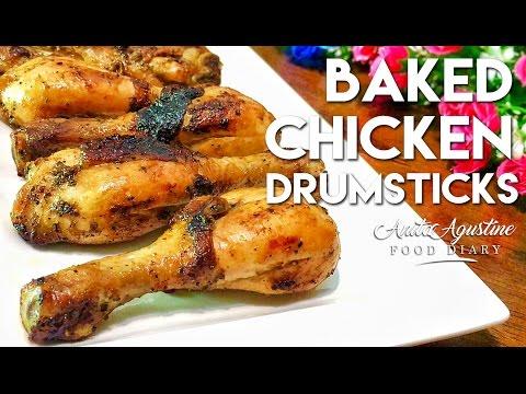 BAKED CHICKEN DRUMSTICKS l SUPER EASY