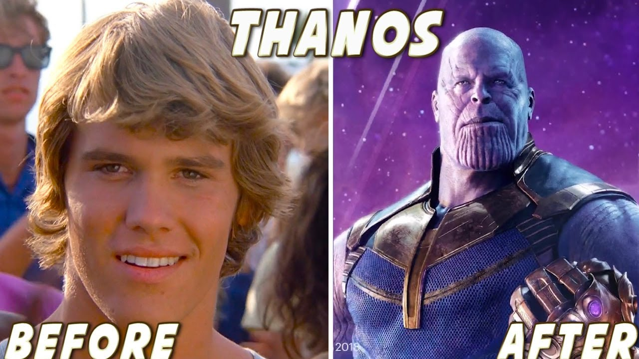 Avengers: Infinity War ★ Before And After