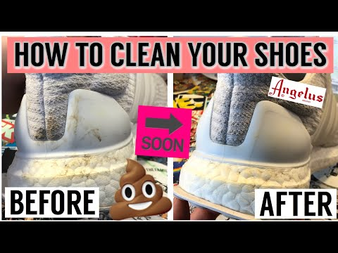 HOW TO CLEAN YOUR SHOES QUICKLY AND EASILY! (Only 3 Minutes!)