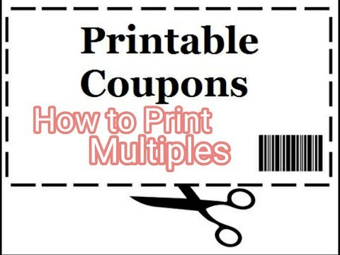 How to PRINT Multiple Coupons from the same Computer PART 2 || Saving Money $$ | Extreme Couponing