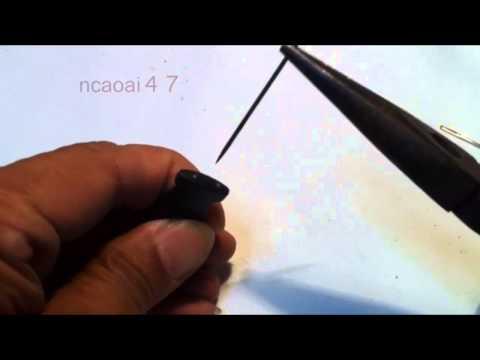 How To Make A Baiting Tool From needle - DIY Fishing Tips - Cách Làm Kim Xâu Mồi