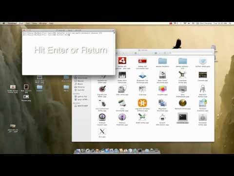 How To Bring widgets out to the desktop on MAC iOSX Lion .mov